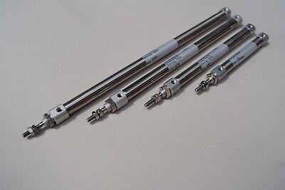 Pneumatikzylinder  Doppeltwirkend Bohrung 10mm Hub  50, 100, 150, 200mm