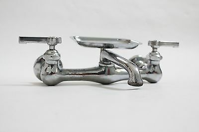 antique faucet kitchen sink | vtg mixing faucet victorian plumbing deco 7