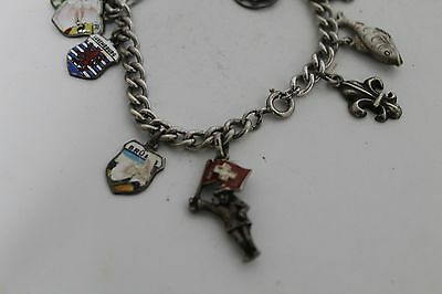 Antique Authentic Hand Made Charming Silver Coins Woman Chain Bracelet 3