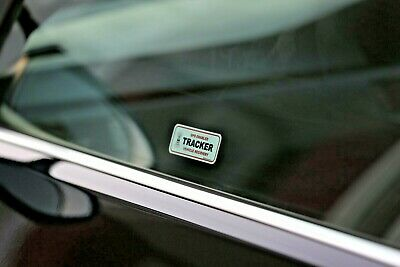2 x GPS TRACKING WINDOW STICKERS, VEHICLE CAR VAN DETER THEFT STOPLOCK DISKLOK 4