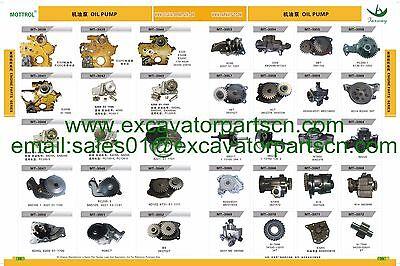 4JA1 4JB1 4JG1 4JG2 Water Pump FITS FOR  Bobcat Mustang Hitachi Machinery Isuzu 6