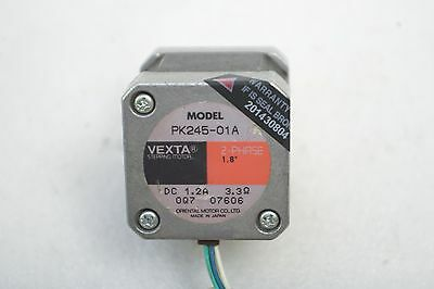Oriental Motor Vexta 2-Phase Stepping Motor Pk245-01A + Px245M-01A Working Free 2