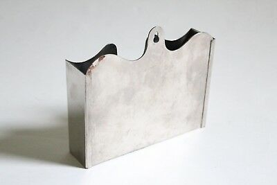 antique toilet tissue wall holder | sanitas victorian bath vtg deco tp holder 9