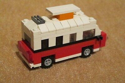 Baukästen & Konstruktion LEGO MINI VOLKSWAGEN VW T1 BULLI CAMPER