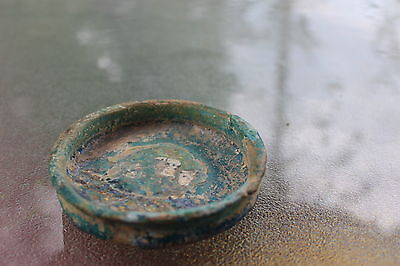 Mysterious tool, genuine, Islamic glazed bowl, 1300-1400 AD 3