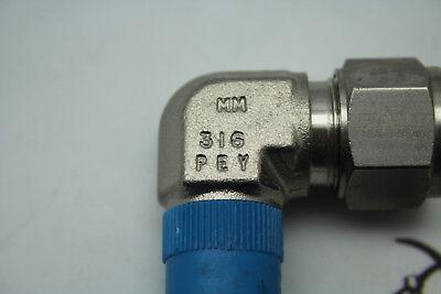 Swagelok MM 316 PEY (Lot of 3)