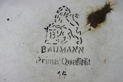 Alte Laborschüssel  Emailliert Baumann  Arzt Apotheker Um 1920 Nr 2