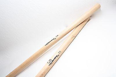 5 Paar XDrum 7A Ahorn Drumsticks Drum Sticks Trommel Stöcke Schlagzeug Wood Tip