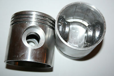 .090 Piston And Rings Set #22262-29 Harley 45 Flathead NEW 3