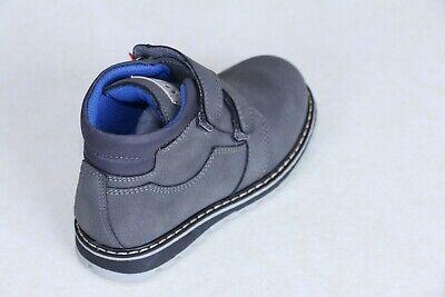 ASSO 43801 Polacchino scarpa sportiva bambino alta shark//grey