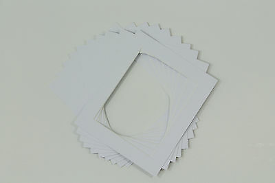 Photo/Picture Mounts / Frame Mounts / Various Size / Colours PACK OF 10 - A4 A3 3