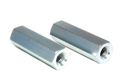 Hex Threaded Spacer / Standoff M4 - Female/Female Stainless Steel (5 Pack) 4