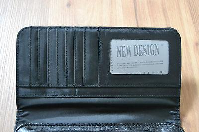 76c3de9f484c4b 3 3 von 5 New Design Geldbörse schwarz Damen Portemonnaie super trendy chic  viel Platz! 4