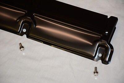 For 68-77 Chevy Chevelle Heavy Duty Black Steel Standard Radiator Support Panel