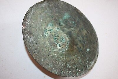 ANCIENT IRON AGE BRONZE CYMBAL c.1000 BC Musical Instruments 3