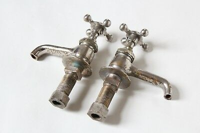antique faucet bathroom sink   vtg victorian porcelain bathroom plumbing deco 6