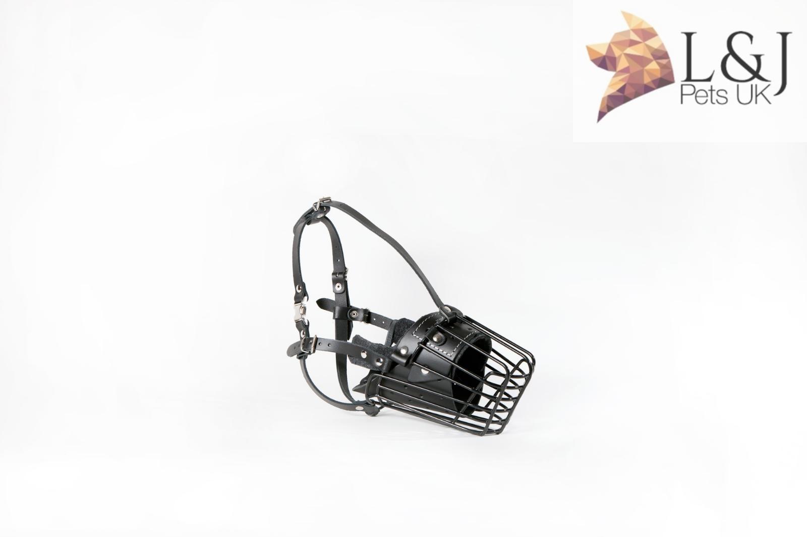 Malinois /… Metall Maulkorb bedeckt mit Gummi Kunststoff f/ür Dobermann