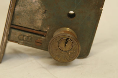 Antique Architectural Salvage Lot Of 5 Brass Door Locks 10