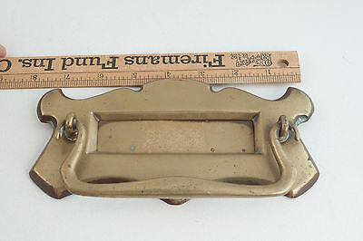 Mid Century or Earlier Brass Mail Slot w/Door Knocker (ST2) 5