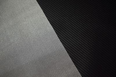 MARINE VINYL FABRIC Carbon Fiber Black Upholstry Outdoor Car Boat 54