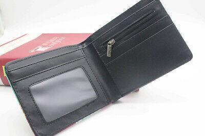 New My Boku No Hero Academia Long Zipper Wallet Bifold Coin Faux Leather Purse