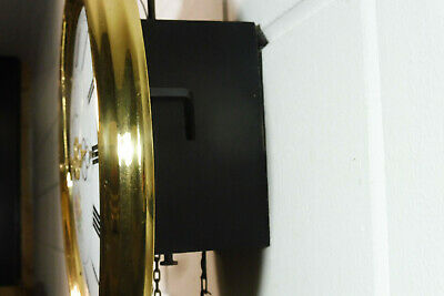 Old Comtoise Wall Clock Dutch Movement Vintage Old Clock 12