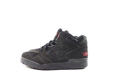 eaf361d0c914 ... Vintage 90s New Converse Mens 6.5 Cons 500 Classic LT Mid Basketball  Shoes Black 7