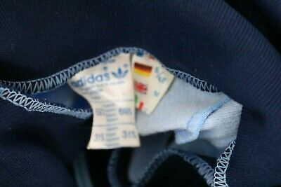 adidas vintage made in France Herren 70s 80s Jacke Track
