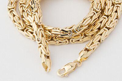 schöne Schuhe begrenzte garantie Release-Info zu KÖNIGSKETTE 5MM GOLDKETTE, 585 Gold Gelbgold Kette Halskette, 60cm lang  Herren