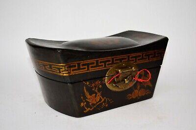Truhe Kisten Box Schmuckbox Schatulle Holz chinesische Möbel Schatzkiste Vintage 4