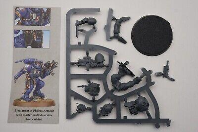Warhammer Primaris Space Marines Lieutenant in Phobos Armour Shadowspear 2