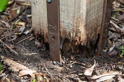 Post Buddy, The Original, Easy Fence Post Repair - 2 pack (fixes 1 broken post) 3
