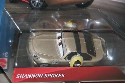 "SHIP WORLDWIDE DISNEY PIXAR CARS 3 /""SHANNON SPOKES/"" NEW IN PACKAGE"