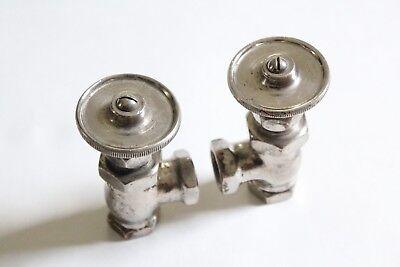 antique faucet wheel shut off angle valve | united deco vtg victorian plumbing 10
