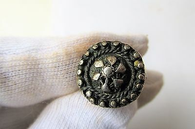 UNIQUE RARE! Antique old beautiful silver ring filigree 19 century - 5g