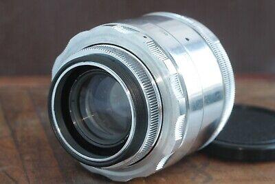 🎥 Excellent Helios 44 2/58 M39 M42 Silver Bokeh portrait Lens Perfekt seller 11
