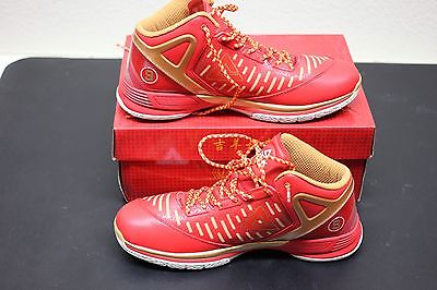 e8dcac78ad3 ... PEAK Tony Parker TP9 II Basketball Shoes - All Star Edition - Red - Size  45
