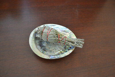 Abalone Shell And Sage Smudge Kit Spiritual Cleansing 2