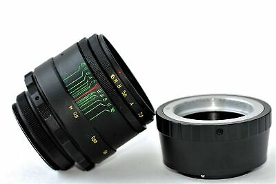 New HELIOS 44-2 2/58mm+ adapter FujiFilm M42/FX Mount BEST Russian USSR Lens 8