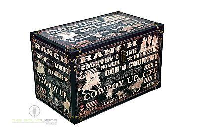 3er Set Kisten Cowboylook Aufbewahrung Box Kiste Truhe Wohnen Vintage NEU & OVP 9