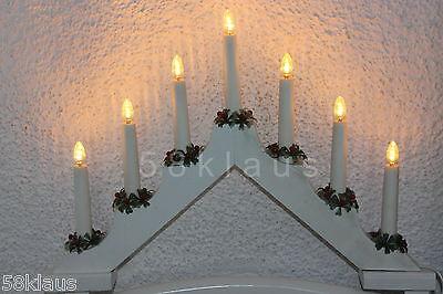 10 LED Topkerze Riffelkerze Spitzkerze Glühbirne Kerze warmweiß E10 0,2W 23-55V 5