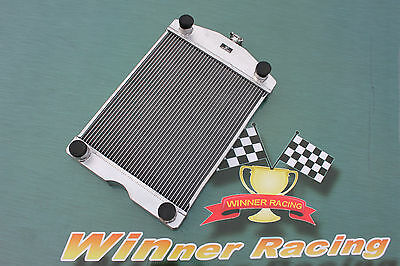 aluminum radiator Ford 2N/8N/9N tractor w/flathead V8 engine 56mm up to 700hp