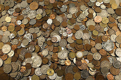 Coin Collection For Sale >> Huge Old Coin Collection Estate Sale Lots Set By The Pound With Silver Coins