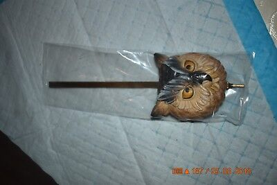 Cuckoo Clock pendulum for 8 day fancy OWL set of 1 for project 3