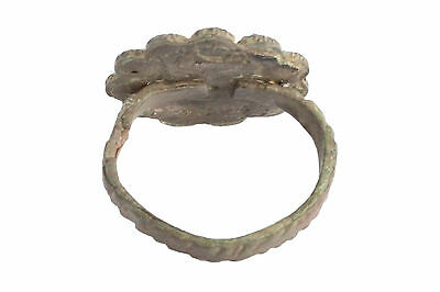 Intact , Unusual Byzantine Ae Ring 3