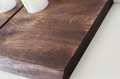 Wandboard Eiche Wild Massiv Holz Board Regal Steckboard Regalbrett