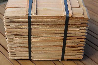 Baustoffe & Holz Holzschindeln Gartenhaus Vordach Spielhaus Basteln Eichenholzschindeln 20cm Fürs Dach