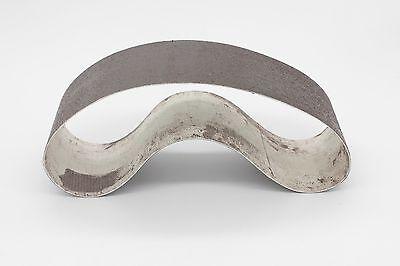 "8""x3"" 600Grit Diamond Resin Soft Abrasive Lapidary Glass Stone Sanding Belt 3"