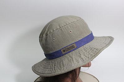 a6307b0dd COLUMBIA SPORTSWEAR COMPANY Dark Khaki Boonie Hat Fish Camp Hunt Unisex Hat