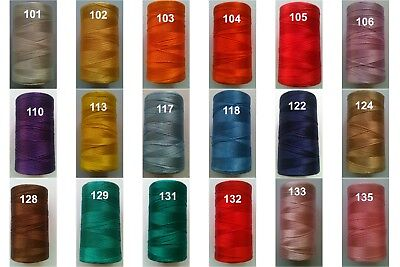 120d//2 Embroidery Machine Viscose Rayon Silk Threads Spool Art Craft 4000 yards